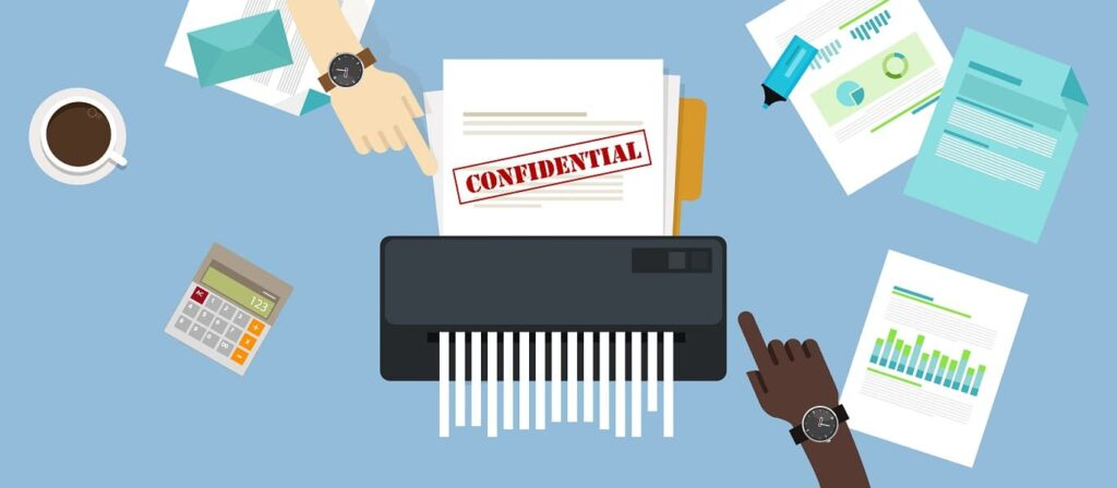 Importance of Shredding Confidential Paper